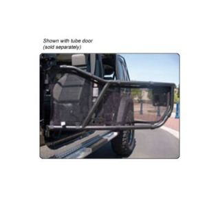 1986 2011 Jeep Wrangler (JK) Half Door   WP Warrior Products, Direct fit, Black
