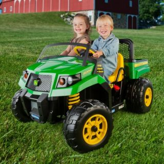 Peg Perego John Deere Gator XUV   Battery Powered Riding Toys