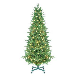 Tahoe Instant Shape Pre Lit LED Slender Christmas Tree   Artificial Christmas Trees