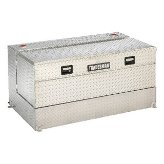 Tradesman 92 Gallon Aluminum L Shaped Box Combo Tank   Truck Tool Boxes