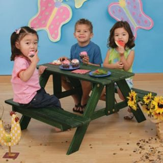 KidKraft Kids Picnic Table   Kids Picnic Tables