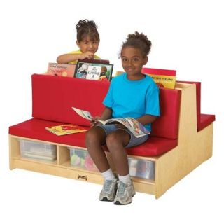 Jonti Craft Kydz Read A Round Sectional Couch   Kids Benches