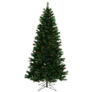 Midnight Green Slim Pre lit Christmas Tree   Christmas Trees