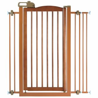Richell Tall One Touch Pet Gate   Gates & Doors