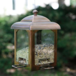 Perky Pet Antique Copper Bird Feeder   Bird Feeders