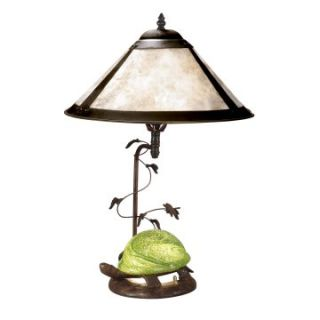 Dale Tiffany Mica Green Turtle Table Lamp   Tiffany Table Lamps