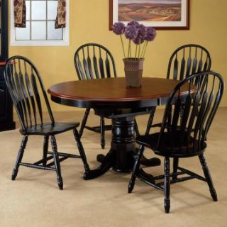 Sunset Trading Fairmont Oval Butterfly Table   Dining Tables