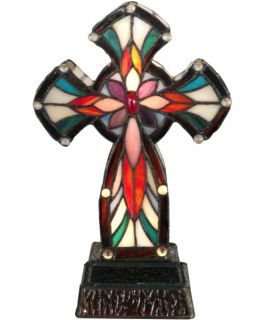 Dale Tiffany Cross Accent Lamp   Tiffany Table Lamps