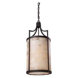 Elk Lighting Spanish Mosaic Pendant Light   Aged Bronze   Pendant Lighting