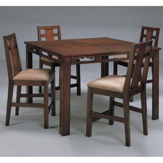 Somerton Dwelling Enchantment 5 piece Counter Height Table Set   Dining Table Sets