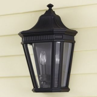 Murray Feiss Cotswold Lane Outdoor Pocket Wall Mount Lantern   16H in. Black   Outdoor Wall Lights