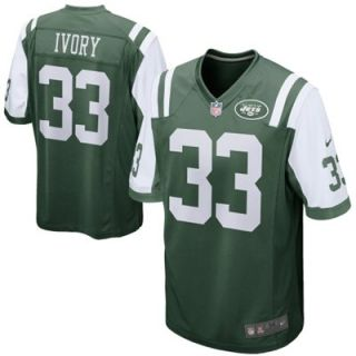 Nike Chris Ivory New York Jets Game Jersey   Green