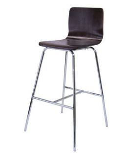 Winsome Archer 30 in. Bar Stool with Chrome Legs   Set of 2   Bar Stools