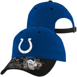 Indianapolis Colts Preschool NFL Rush Zone Defense Engage Adjustable Hat   Royal Blue
