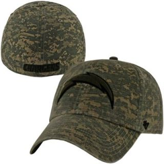 47 Brand San Diego Chargers Officer Franchise Fitted Hat   Camo