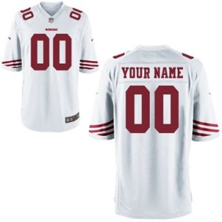 Nike San Francisco 49ers Custom Youth Game Jersey