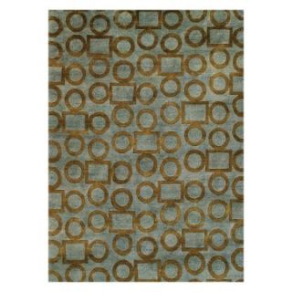 Noble House Legacy Area Rug   Grey/Gold   Area Rugs