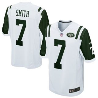 Nike Geno Smith New York Jets Game Jersey   White