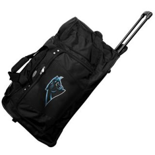 Carolina Panthers 27 Rolling Duffel Bag