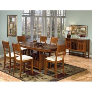 Progressive Furniture Soho 5 Piece Counter Height Dining Table Set   Dining Table Sets