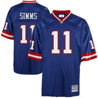 Mitchell & Ness Phil Simms New York Giants Replica Retired Player Jersey   Royal Blue