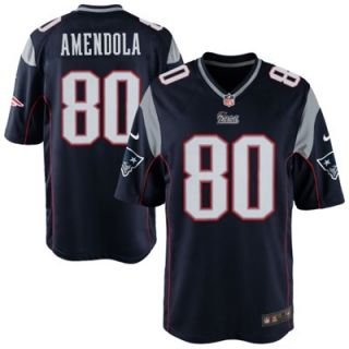 Nike Danny Amendola New England Patriots Game Jersey   Navy Blue