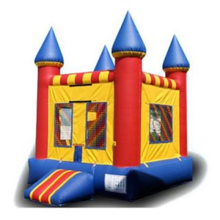 EZ Inflatables Mini Castle Jumper Bounce House   Commercial Inflatables