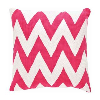 Dash & Albert 20 x 20 in. Fresh American Chevron Indoor/Outdoor Pillow   Outdoor Pillows