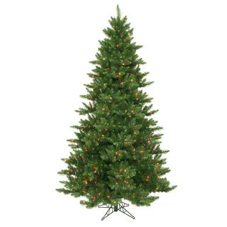 Pre lit Multi Light 7.5 ft. Camdon Fir Tree   Christmas Trees