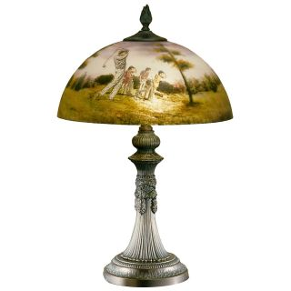 Dale Tiffany Golf Table Lamp   Desk Lamps