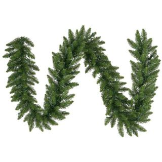 12 in. x 9 ft. Camdon Fir Unlit Garland   Christmas Garland