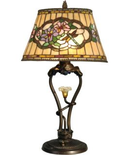 Dale Tiffany Star Flower Table Lamp with LED   Tiffany Table Lamps