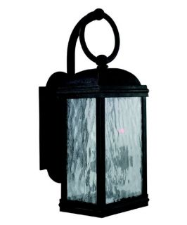 Sea Gull Branford Outdoor Wall Lantern   17.75H in. Obsidian Mist   Outdoor Wall Lights