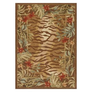 Loloi Ernest Hemingway Atrium AU 02 Indoor/Outdoor Area Rug   Brown Multi   Area Rugs