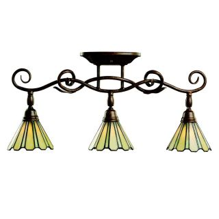 Kichler Tiffany Rail Light Bar   3 Heads   Track Lighting