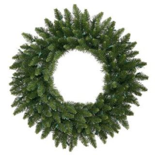 Vickerman 30 in. Camdon Fir Unlit Christmas Wreath   Christmas Wreaths