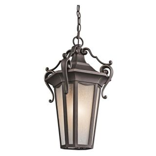 Kichler Nob Hill 49419RZ Outdoor Ceiling   10 in.   Rubbed Bronze   Outdoor Hanging Lights