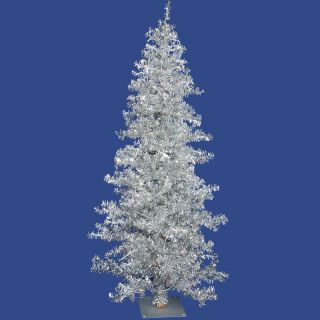 Vickerman Silver Wide Cut Christmas Tree   Christmas Trees