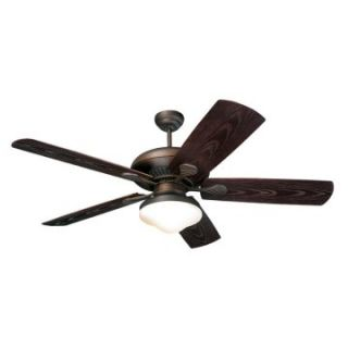 Monte Carlo 5SH54RBD L The Shores 54 in. Indoor / Outdoor Ceiling Fan   Roman Bronze   ENERGY STAR   Outdoor Ceiling Fans