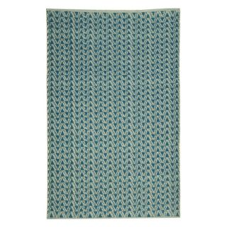 Thom Filicia by Safavieh,Ackerman TMF120B Indoor/Outdoor Area Rug Summer/Blue   Rugs