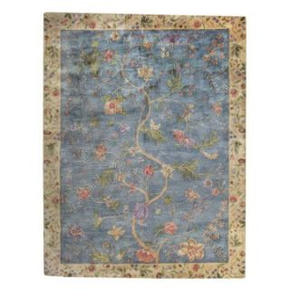 Capel Garden Farms #3 9249RS0 Area Rug   Blue   Area Rugs