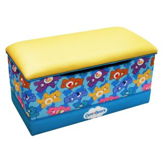 American Greetings Care Bears Deluxe Toy Box   Toy Chests