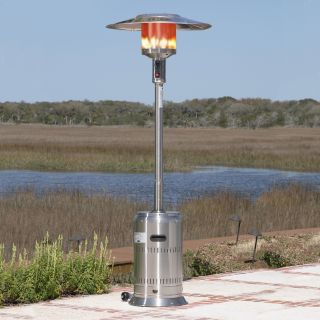 Fire Sense Stainless Steel Commercial Patio Heater   Patio Heaters