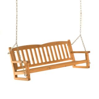 Easy Living 5 ft. Wood Porch Swing   Porch Swings