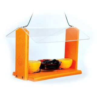 Going Green Recycled Plastic Oriole Bird Feeder   Bird Feeders