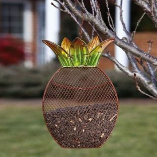 Garden Friends Pineapple Suet Bird Feeder   Bird Feeders