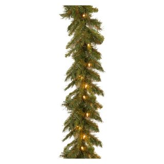 9 ft. Tiffany Fir Pre Lit Garland   Christmas Garland