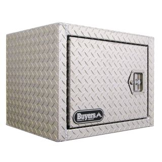 Buyers Aluminum Barn Door Underbody Tool Box   Truck Tool Boxes