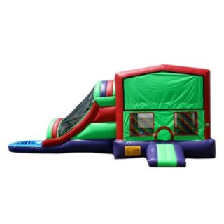 EZ Inflatables Module Water Bounce House Combo   Commercial Inflatables