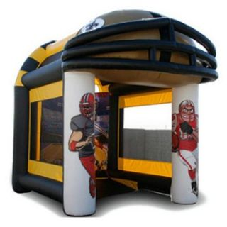 EZ Inflatables Football Toss Bounce House   Commercial Inflatables